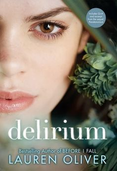 Delirium~Lauren Oliver I highly recommend this book to Dystopian lovers. It takes a bit to get into it, but after a hundred pages or so you won't be able to put it down! The love story between Lena and Alex is not only great, but so are the relationships Lena has with Hana and Grace... I loved Grace and how The author went that little extra step to put her in because they story would be different if she wasn't in Lena's life. *3.8/5*