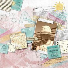 chouette, mixed media, artjournaling, child, doodle, studio-scrap, digital scrapbooking, scrap