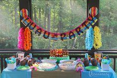 Aloha Party Kit #occasionary #luau #summer #party #tiki