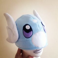 Homemade pokemon hat Dratini by KurtabraHats on Etsy, £23.00
