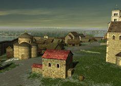 Wawel - reconstruction