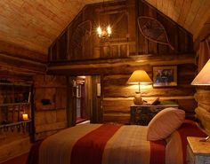 this looks sooo cozy for a master (2nd) bedroom.. I have so many ideas!  I don't know which one to do!