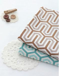 Scandinavian Style Road Pattern 30s Cotton Fabric - 2 Colors Selection by luckyshop0228 on Etsy