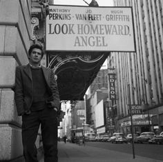 """""""Look Homeward, Angel"""" Men With Cats, Thomas Wolfe, Norman Bates, Anthony Perkins, Big Crush, Old Hollywood, Memoirs, Old Photos, Movie Stars"""