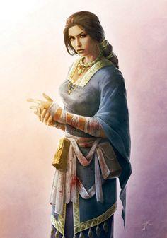 (Grand Cleric Adèle) [Artist: Jason Engle]