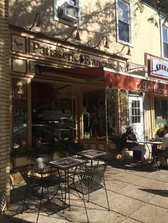 Le Petite Mitron has authentic French pastries and treats.  My favorite!