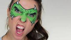 Výsledek obrázku pro face painting dinosaur