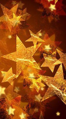 METALLIC STARS, IPHONE WALLPAPER BACKGROUND