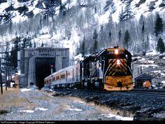 Denver & Rio Grande Western Railroad- East Portal of Moffat Tunnel The so awesome SKI TRAIN!!!!!