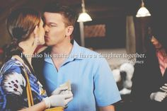 I'm also his mate, we have a daughter together. -Bones