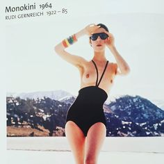 Decent indecent monikini #andreatincu #inspiration #monikini #gernreich #fashion #trends #supermodel #style #designer #blacksuit #contemporarydesign #art