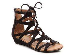 97de72efd56 Crown Vintage Sarah Gladiator Sandal Lace Up Wedge Sandals