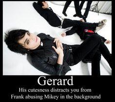 Did nobody notice Gerard is actually helping Frank?