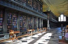 Codrington Library, All Souls College, Oxford, England.