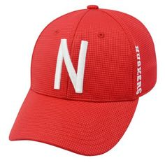 Nebraska Cornhuskers Official NCAA Booster Plus Embroidered Hat Cap TOW 024671