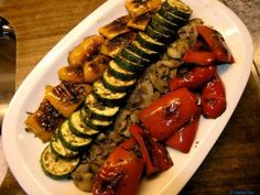 Grilling Recipes The perfect vegetable-antipasti-recipe with picture and easy step-by-step … Pasta Recipes, Appetizer Recipes, Appetizers, Vegetable Recipes, Vegetarian Recipes, Healthy Recipes, Healthy Food, Mediterranean Recipes, How To Cook Pasta