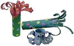 Cardboard tube Sea Creatures  You need:    Empty Paper Towel Tube  Tacky Glue  Paint and Brush  Two Wiggle Eyes -- 20mm  Scissors  Hole Punch  Construction Paper