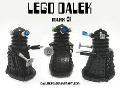Lego Dalek mark 01 by *CallMePo on deviantART