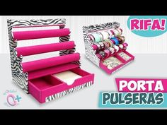 Trendy jewerly organizer diy box how to make – Jewelry Organizer Diy Jewellery Storage, Jewellery Display, Cardboard Crafts, Paper Crafts, Diys, Diy Rangement, Diy Box, Diy Candles, Jewelry Organization