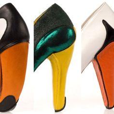 Fowl Footwear by Shoe Designer Kobi Levi.