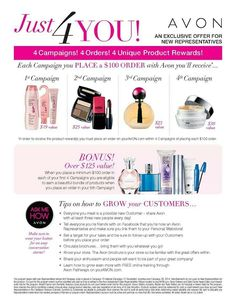 Looking for Avon Customers!! Visit here; interested contact me: 510)938-0557 www.youravon.com/vharris