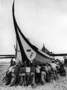 «L'Equipe», Vieira de Leiria, Portugal, 1954.