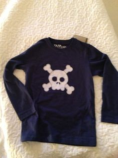 Camiseta niño calavera