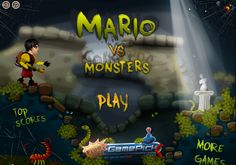 Mario Fighting Monsters -  #Mario, #Monster Play Online, Online Games, Super Mario Bros Games, Games For Boys, Fighting Games, Monsters, Boy Or Girl