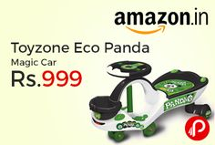 Amazon #LightingDeal is offering 46% off on Toyzone Eco Panda Magic Car just at Rs.999. 360 degree rotation of steering, Steering have lights and sound, Eco panda design, 2 kg Weight, Product Dimensions – 75.2 x 34.3 x 26.4 cm.  http://www.paisebachaoindia.com/toyzone-eco-panda-magic-car-just-at-rs-999-amazon/