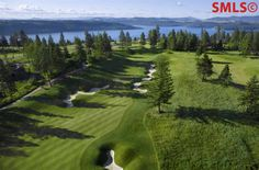 #NorthIdaho Living. #GolfCourse Lot on the 16th fairway at #BlackRock