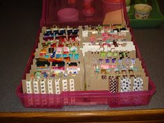 DivaInPink's Thoughts and Ideas: Diva's Ribbon Storage