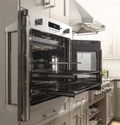 in Stainless Steel by GE Appliances in Lawrence Township, NJ - Monogram Professional French-Door Electronic Convection Single Wall Oven French Door Wall Oven, French Doors, Commercial Kitchen Design, Monogram Appliances, Electric Wall Oven, Single Wall Oven, Kitchen Chandelier, Oven Racks, Food Preparation