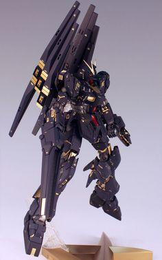 """Nu Gundam Ver.Ka """"Bashee Destroy Custom"""""""