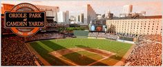 Oriole Park at Camden Yards (Baltimore, MD) Saw this stadium during the off season. Would love to go back and see a game there!