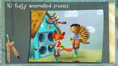 Spatter & Spark ($0.00) * 10 fully interactive scenes featuring art from Luciana Navarro Powell, the acclaimed illustrator of the popular Goodnight Safari app  Most appropriate for children ages 4-6  ** Requires iPad 2 or newer, or iPhone 4 or newer**