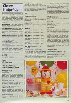 "Кукляндия: Журнал ""Ежи"" ( Knitted Hedgehogs by Jean Greenhowe) Knitting Dolls Free Patterns, Teddy Bear Knitting Pattern, Christmas Knitting Patterns, Amigurumi Patterns, Knitting Toys, Knitted Nurse Doll, Knitted Dolls Free, Simply Knitting, Knitting For Charity"