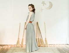 summer silhouette naturally dyed dress