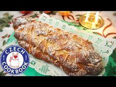 Christmas Bread – Vánočka – Czech Cookbook – Video Recipes in English – US Measurements – US Ingredients Cookbook Recipes, Bread Recipes, Cookie Recipes, Snack Recipes, Christmas Bread, Christmas Cooking, Cooking Green Beans, Czech Recipes, English Food