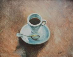 "For Sale: Espresso Shot by Aumi  | $250 | 14""w x 11""h 