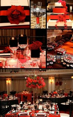 Good idea for decorations for this gala.