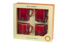 Set of 4 Mugs Le Creuset! Some day I will have these