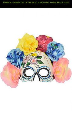 Ethereal Garden Day of the Dead Mardi Gras Masquerade Mask #drone #plans #mask #gadgets #racing #camera #products #kit #fpv #gardening #tech #parts #technology #shopping