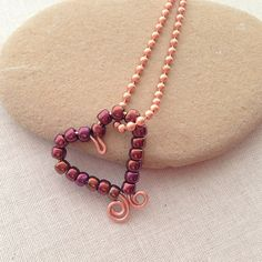 Wire heart jewelry designs made with a free tutorial from my blog