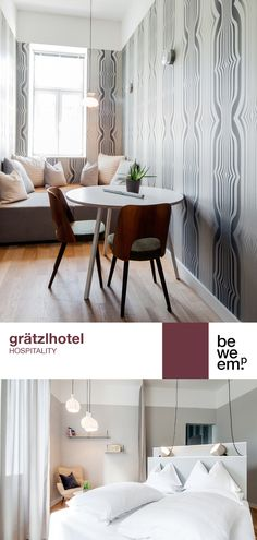 PROJECT_grätzlhotel DEPARTMENT_Hospitality LOCATION_Vienna  Image: ©Severin Wurnig / Monika Nguyen Hotel Concept, Location, Hospitality, Entryway Bench, Innovation, Furniture, Design, Home Decor, Entry Bench