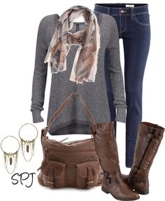 """Friendly Hunting Scarf"" by s-p-j ❤ liked on Polyvore"