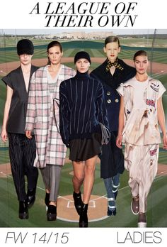 2014/2015 YOUNG WOMEN'S FASHION TRENDS   Women's fashion trend forecast: Fall-Winter 2014/2015 themes from ...
