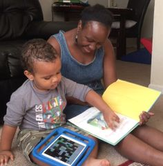 Shared Reading: Using Augmentative and Alternative Communication (AAC) with Project Core