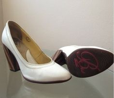 W8 Blind Faith Nicolette in soft, white patent leather! Hotness! $40