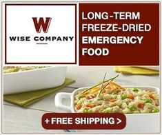 Wise Food Storage offers a fantastic selection of long term survival food and emergency food kits. Browse our selection and get prepared today! Emergency Food Kits, Emergency Food Storage, Survival Food, Survival Tips, Prepper Food, Camping Survival, Survival Skills, Wise Food Storage, Long Term Food Storage