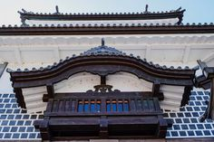 Details of Kanazawa-jō (Kanazawa castle). Kanazawa-jō (Kanazawa castle) has burnt down and been rebuilt several times in its history. Today it is a must see. Kanazawa, Big Ben, Castle, Japan, Times, History, Building, Photos, Historia